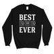 Best Dad Ever Guitar Chord Mens/Unisex Fleece Sweatshirt Creative