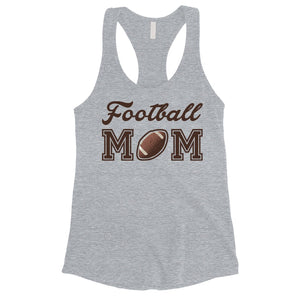 Football Mom Tank Top Womens Sleeveless Shirt Cute Mothers Day Gift