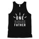 One Dadass Father Mens Brilliant Funny Workout Sleeveless Top Gift