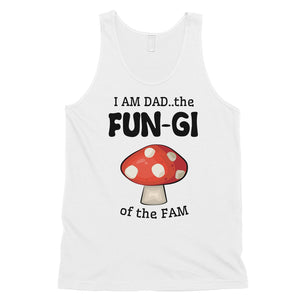 Fungi Dad Mushroom Mens Fatherly Humor Sleeveless Top Gift For Dad
