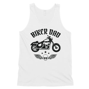 Biker Dad Mens Rowdy Energetic Father's Day Sleeveless Top Gift