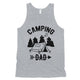 Camping Dad Mens Motivational Sweet Fun Sleeveless Top Dad Gift