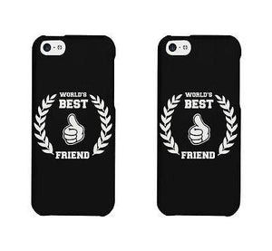 World's Best Friend Cute BFF Matching Phone Cases For Best Friends