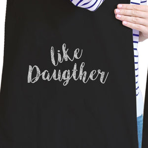 Like Daughter Like Mother Black Matching Tote Bag Mothers Day Gifts