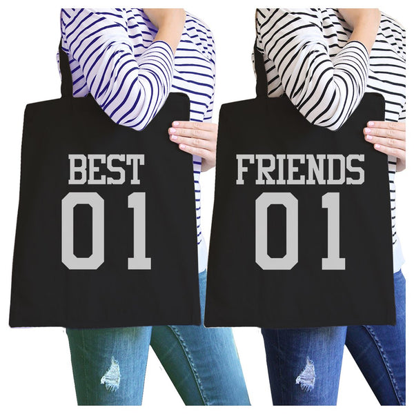 Best01 Friends01 BFF Matching Canvas Bags For Best Friend Gifts