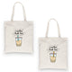 Boba Milk Best-Tea Funny BFF Matching Canvas Bags Gift For Sisters