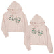 Big Little Floral BFF Matching Sweatshirts Gift Gorgeous Elegant