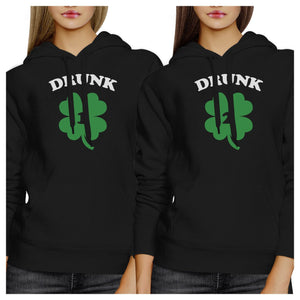Drunk1 Drunk2 Funny Best Friend Matching Hoodie For St Patricks Day