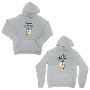 Boba Milk Best-Tea Cute BFF Matching Hoodies Funny Birthday Gift