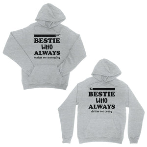 Bestie Always Matching Tops Unisex Pullover Hoodies For BFF Gift