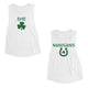 Shenanigans St Patrick's Day Matching Muscle Tank Tops For BFF Gift