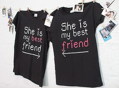 BFF Matching Shirts - She's My Best Friend with Arrows - Gift for BFF