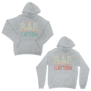 BAEcation Vacation Grey Matching Couple Hoodies Cute Newlywed Gift