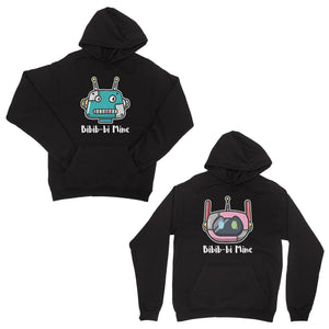 Bibib-bi Mine Black Matching Hoodies Couple Funny Valentine's Gift