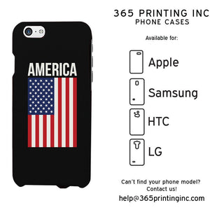 US Flag America Cute Phone Case Great Gift Idea For Independence Day