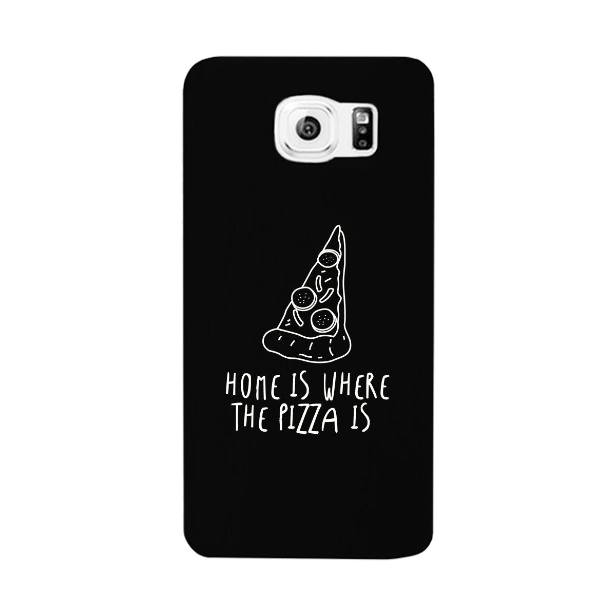 Home Where Pizza Black Ultra Slim Phone Cases For Apple, Samsung Galaxy, LG, HTC