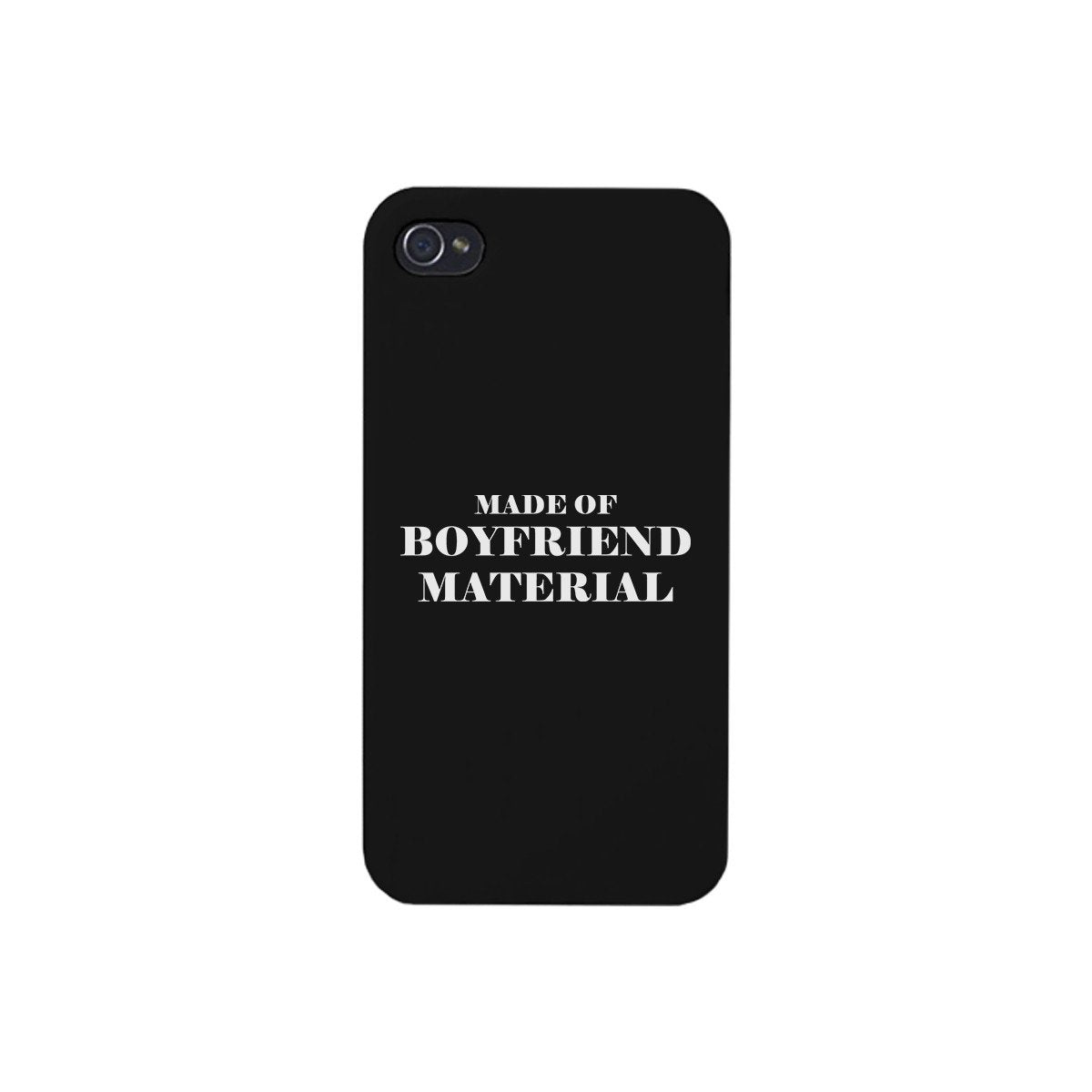 Boyfriend Material Black Cute Phone Cover Gift For Him