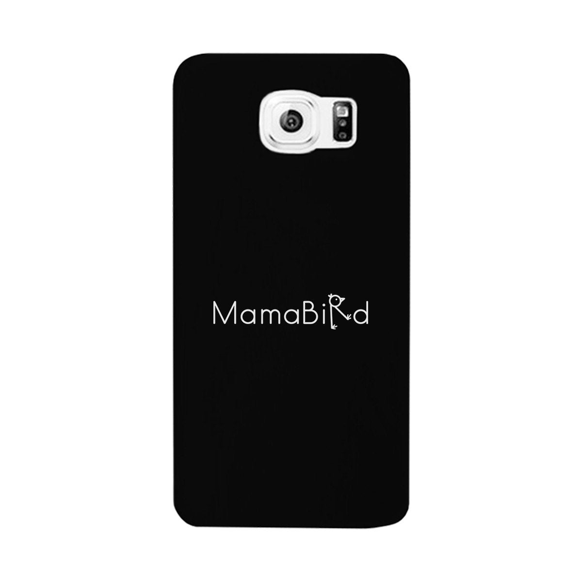 MamaBird Black Phone Case Cute Design Unique Gifts For New Moms
