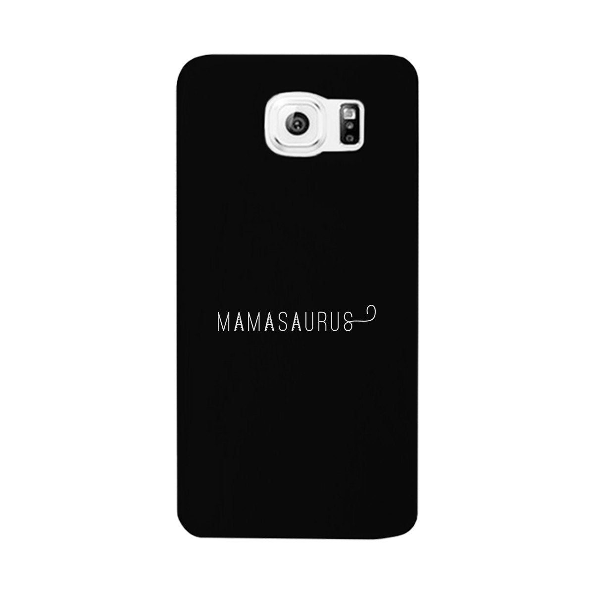 Mamasaurus Black Phone Case Perfect Gift Ideas For Mom of Boys