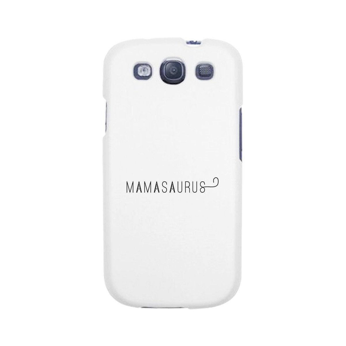 Mamasaurus White Phone Case Perfect Gift Ideas For Mom of Boys