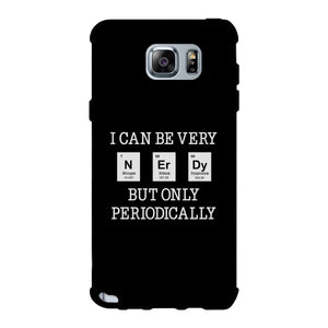 Nerdy Periodically Black Phone Case