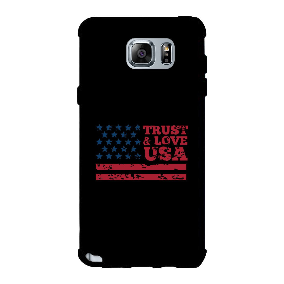 Trust & Love Usa Black Phone Case