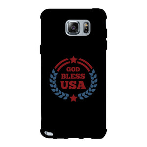 God Bless Usa Black Phone Case