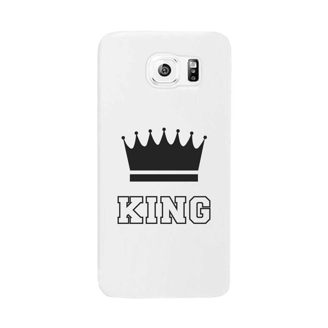 King-LEFT Phone Case Slim Fit Cute Couples Anniversary Gift For Him