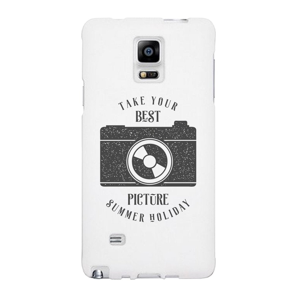 Take Your Best Picture Summer Holiday White Phone Case