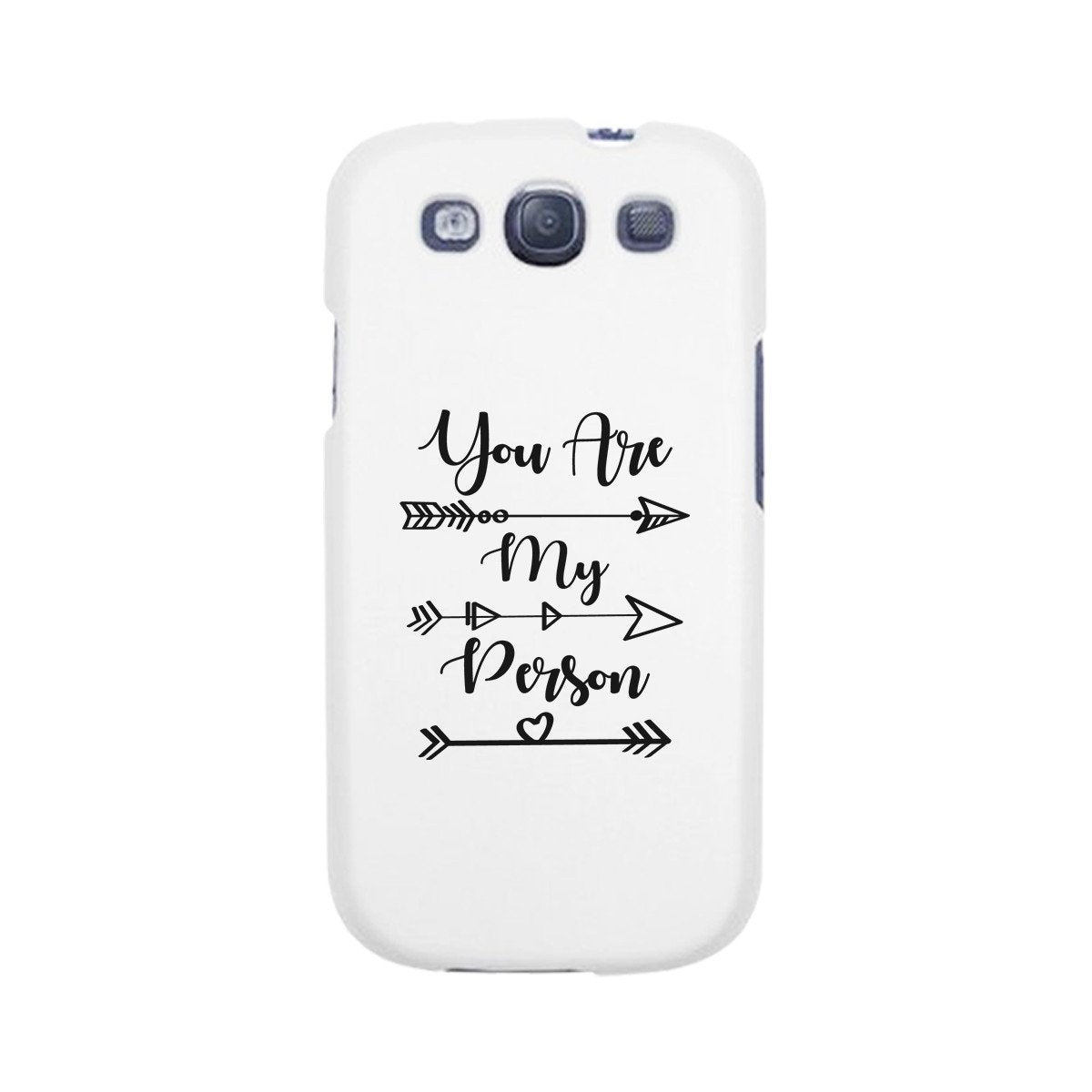 You Are My Person - White Phone Case