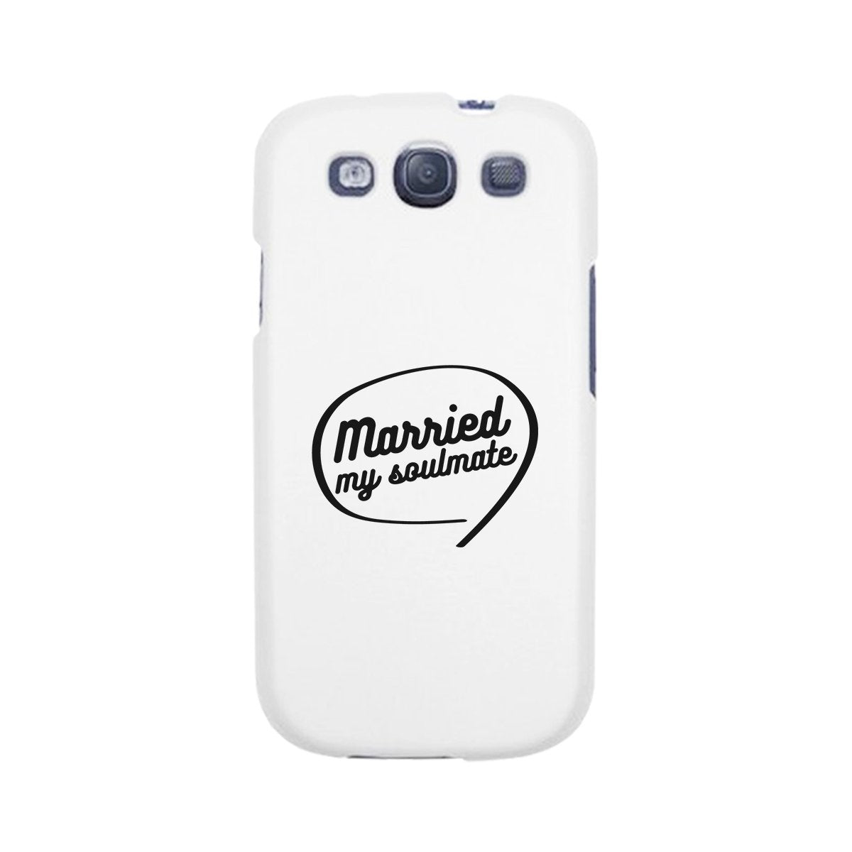 Married My Soulmate White Phone Case