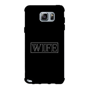 Wife-Right Black Phone Case