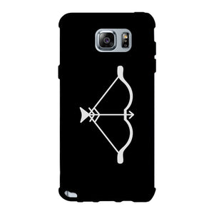 Bow And Arrow-Left Black Phone Case