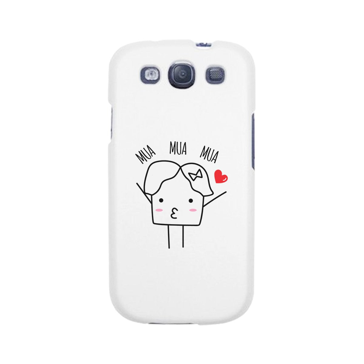 Mua Mua Mua-Right White Phone Case