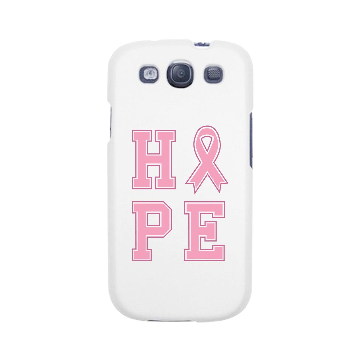 Hope Ribbon White Phone Case