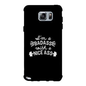 Bad Nice Ass Phone Case Funny Workout Gift Phone Case