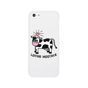Loving Moother Cow Phone Case Mothers Day Unique Design Phone Cover