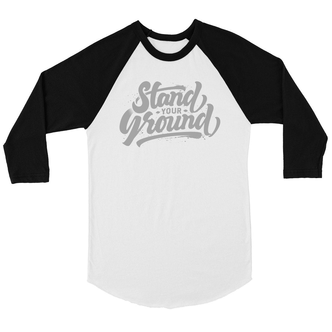 Stand Your Ground Mens Baseball Shirt