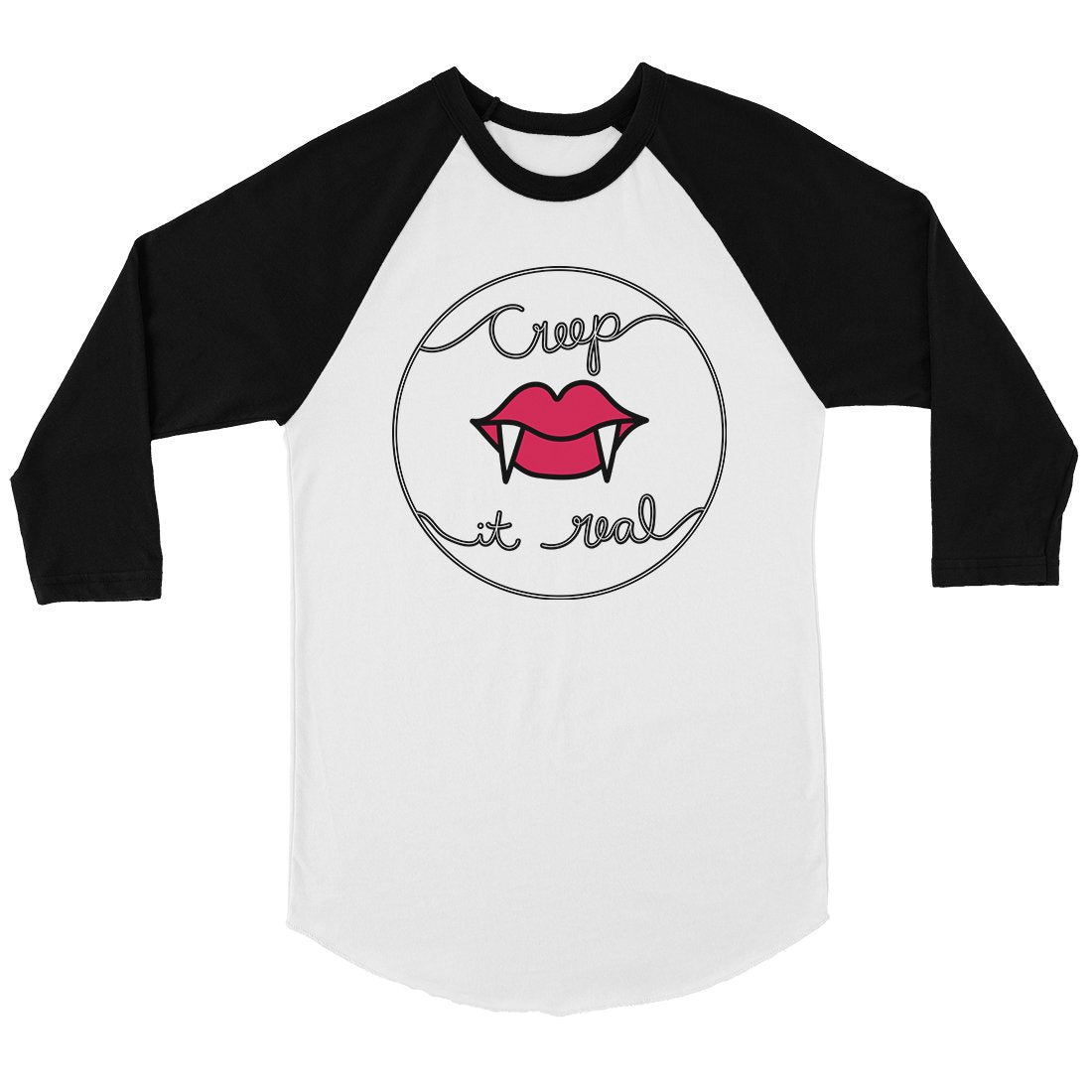 Creep It Real Womens Baseball Tee