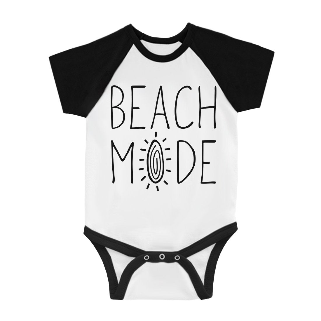 365 Printing Beach Mode Cute Baby Baseball Jumpsuit Cute Summer Baby Shower Gift