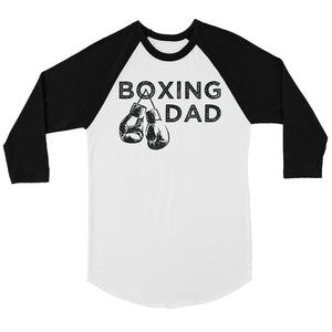 Boxing Dad Mens Baseball Shirt Thoughtful Cool Proud Father's Day