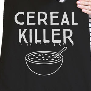 Cereal Killer Black Canvas Bags