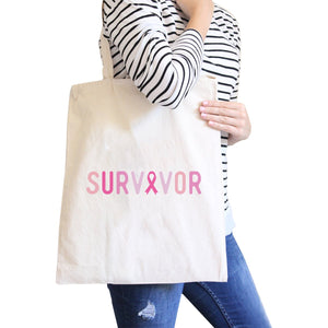 Survivor Natural Canvas Bags