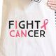 Fight Cancer I Can Natural Canvas Bags