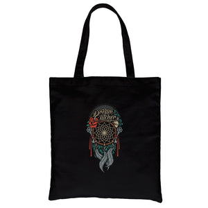 Dream Catcher Canvas Shoulder Bag