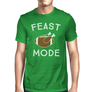 Feast Mode Mens Green Shirt