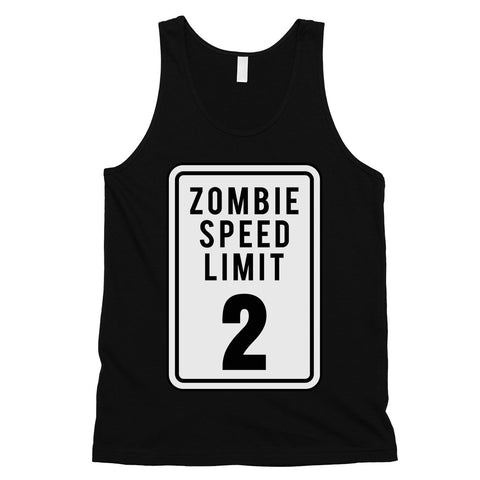 Zombie Speed Limit Mens Tank Top