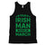 True Irish Born March Mens Tank Top For Saint Patrick's Day Outfit