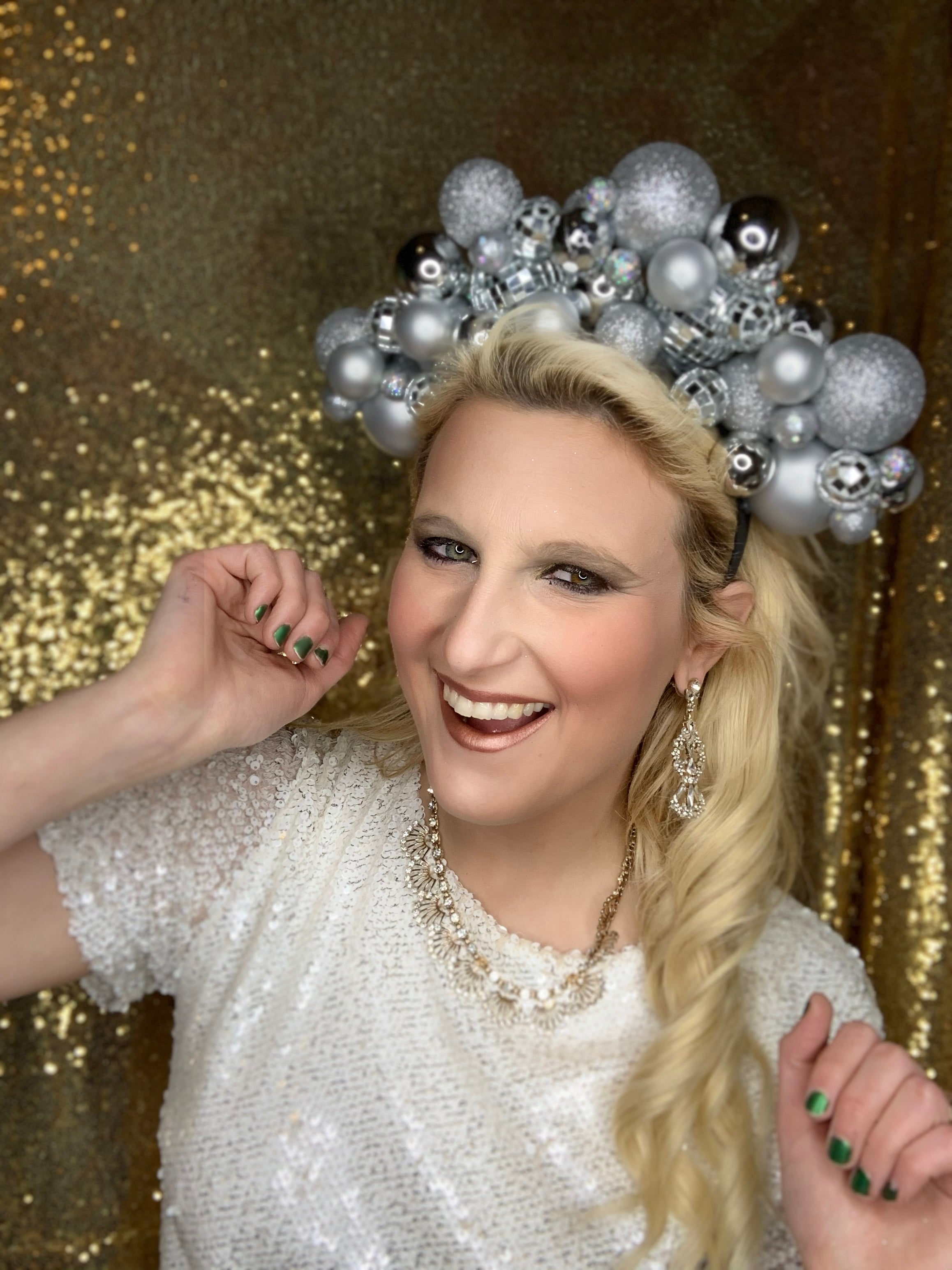NYE - Disco Ball Crown