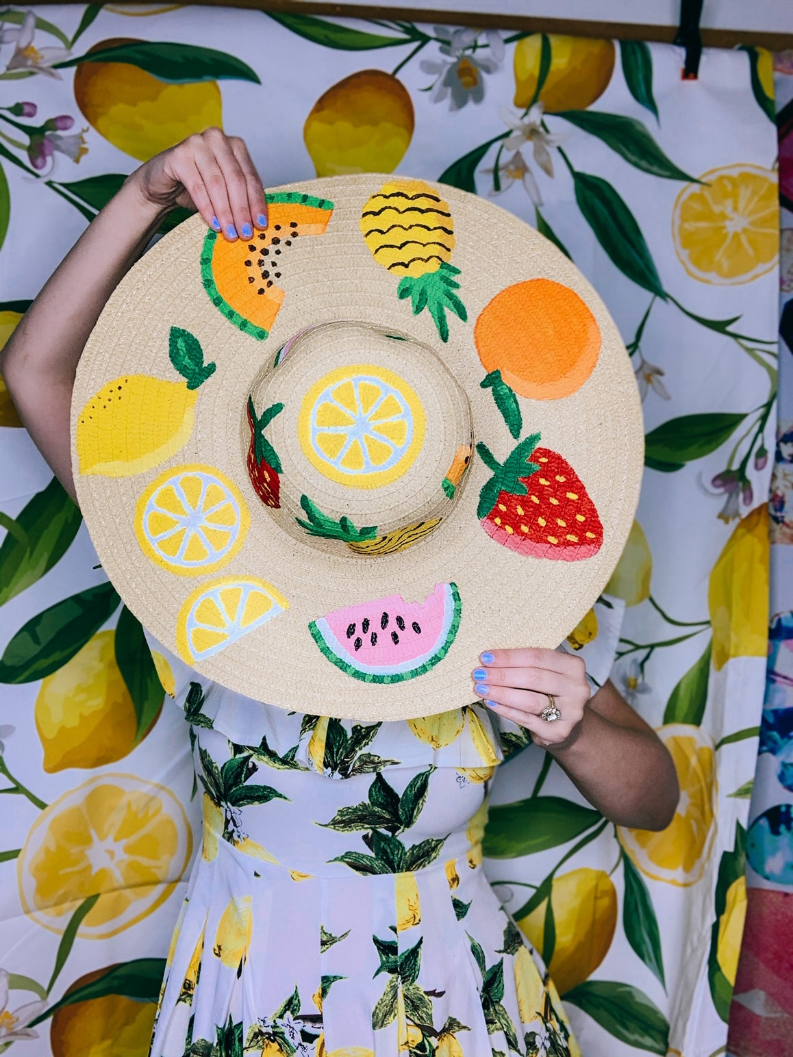 Fruit Floppy Hat